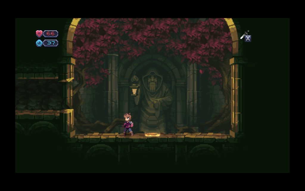One of the many shrine rooms in Chasm